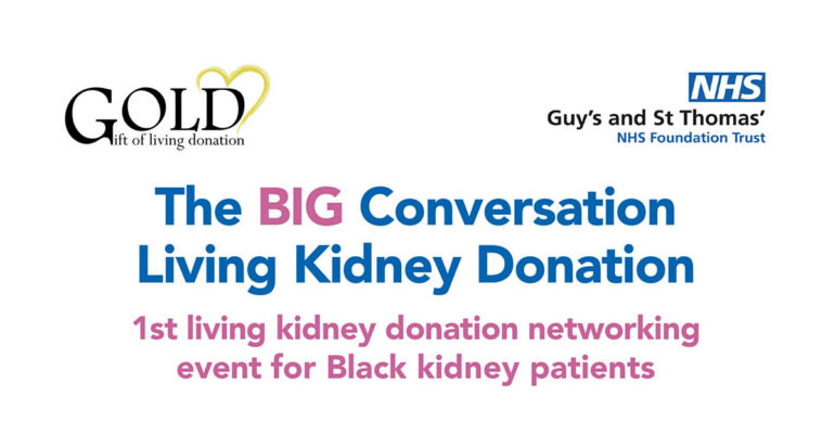 The BIG Conversation Living Kidney Donation