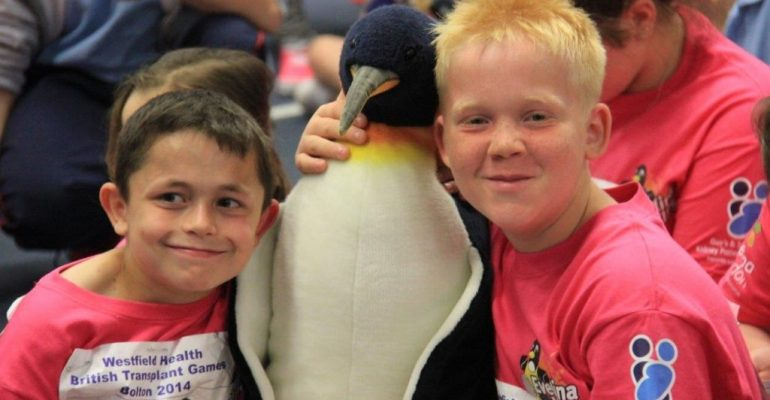 Success for the children at The British Transplant Games