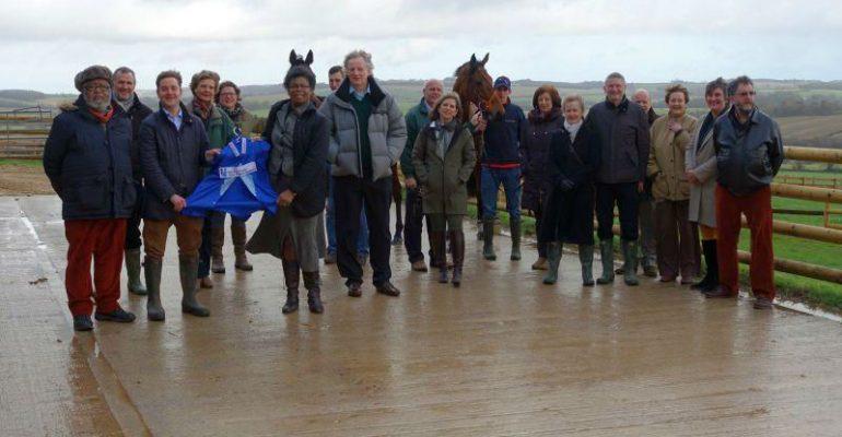 Charity racing partnership update